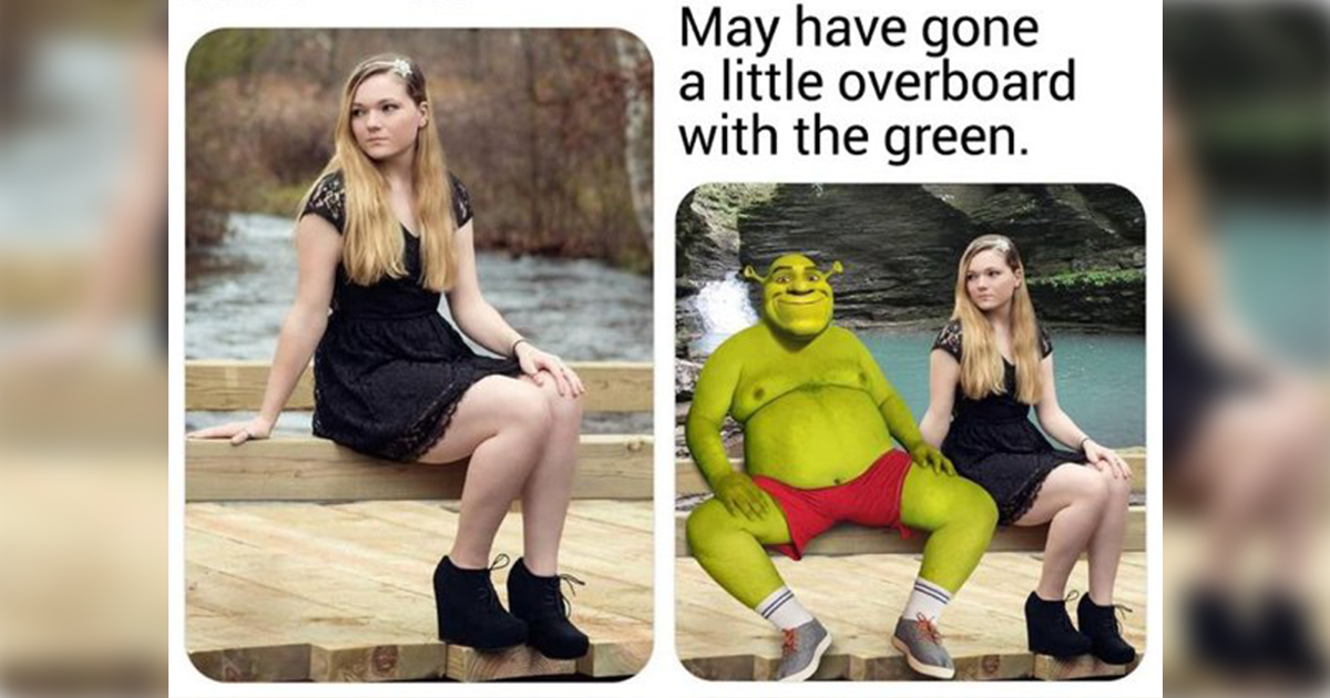The internet's most famous Photoshop troll is at it again