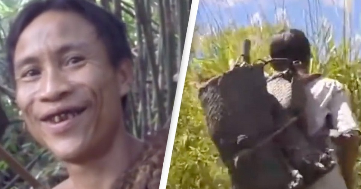 Real-Life Tarzan Who Lived In Jungle All His Life Didn't Know Females Existed For 41 Years