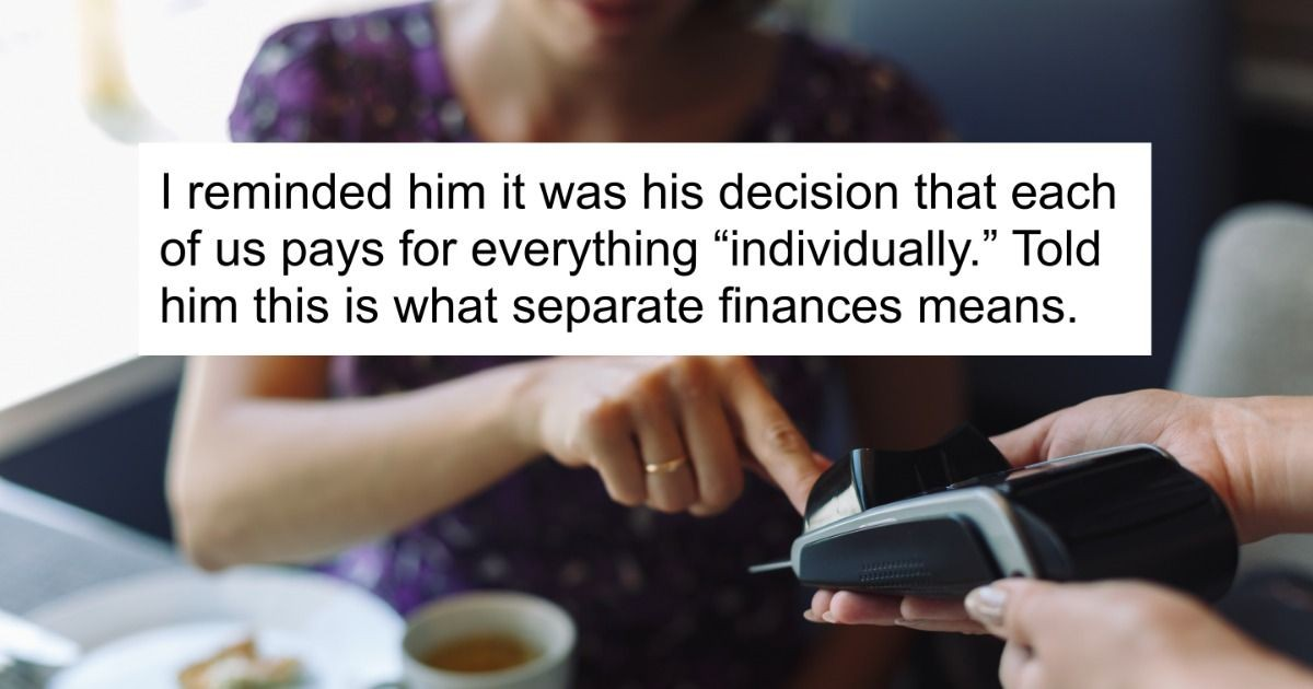 Woman Questions If She Was In The Wrong For Ditching Her Husband At Restaurant When He Couldn't Pay The Bill