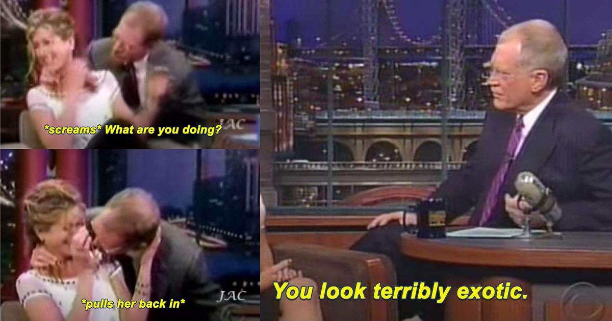 David Letterman Being Unprofessional With Women In 15 Pictures