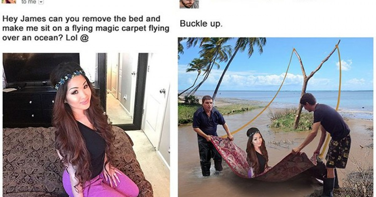 People Who Got Their Photoshop Help Request Trolled