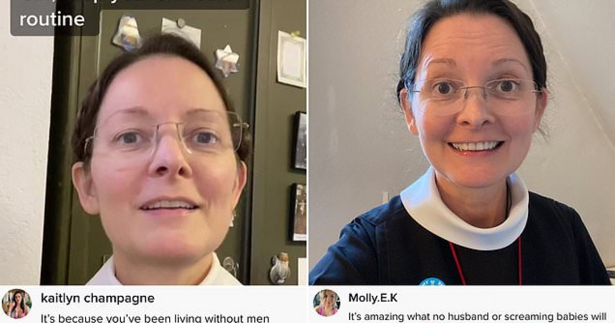 Nun, 55 Goes Viral on TikTok After Revealing Her Skincare Routine