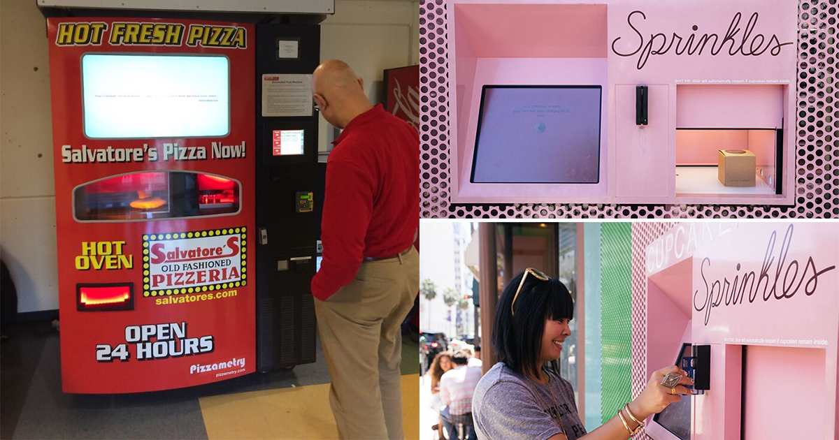 The Coolest Vending Machines You Wish Your Town Had