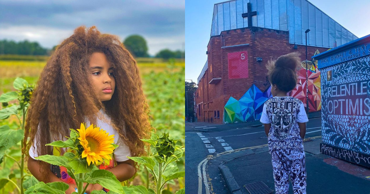 Insta Famous Nine Year-old Rejected From Schools Due To Long Afro Hair