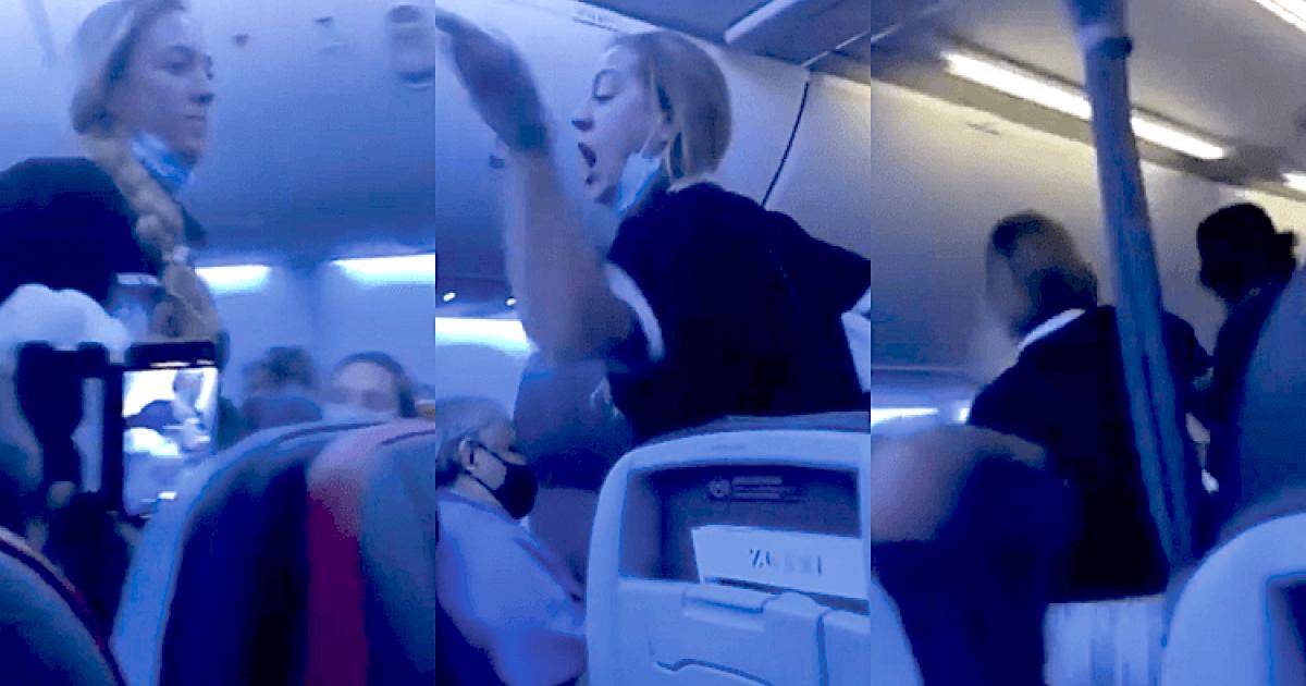 Homophobic Anti-masker Kicked Off Plane