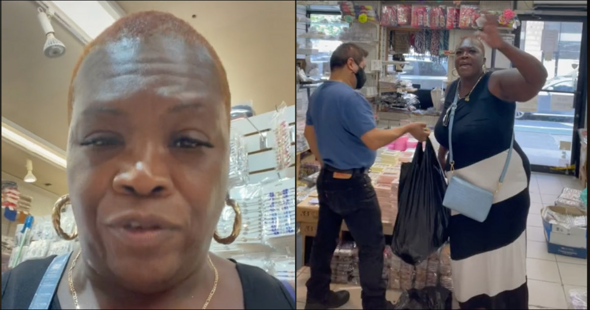 Black Woman Left Fuming With Anger After Jewelry Store Wrongfully Accuses Her Of Stealing And Makes Her Empty Her Bags