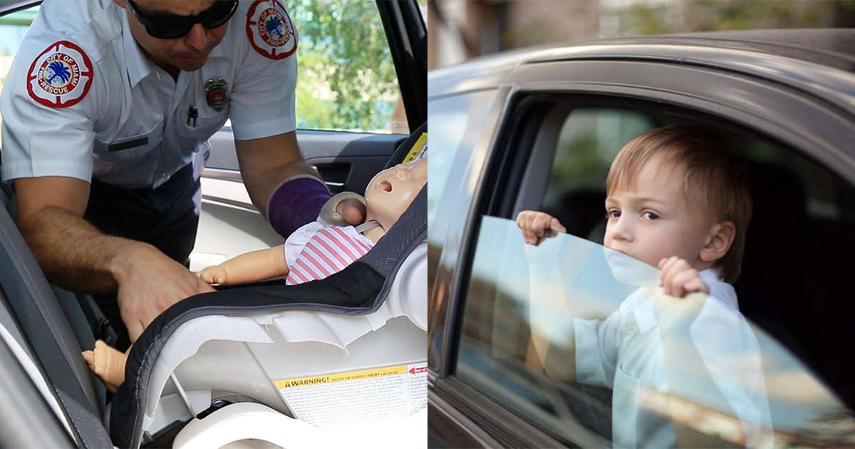 4-year-old Calls Police After Mom Locks Him And 6 Other Kids In Hot Car