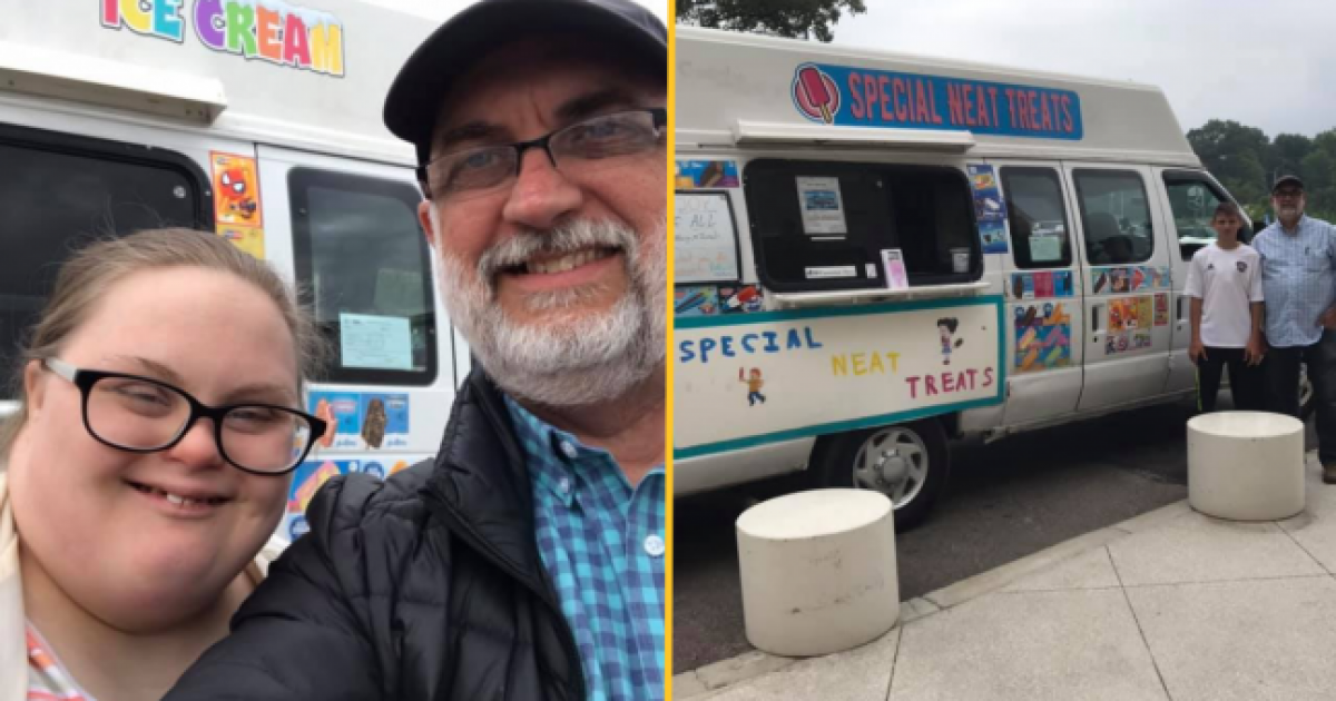Dad Buys Ice Cream Van To Create Jobs For His Kids With Down Syndrome