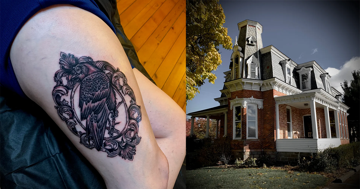 This 140-year-old Mansion Is Actually A Tattoo Parlour