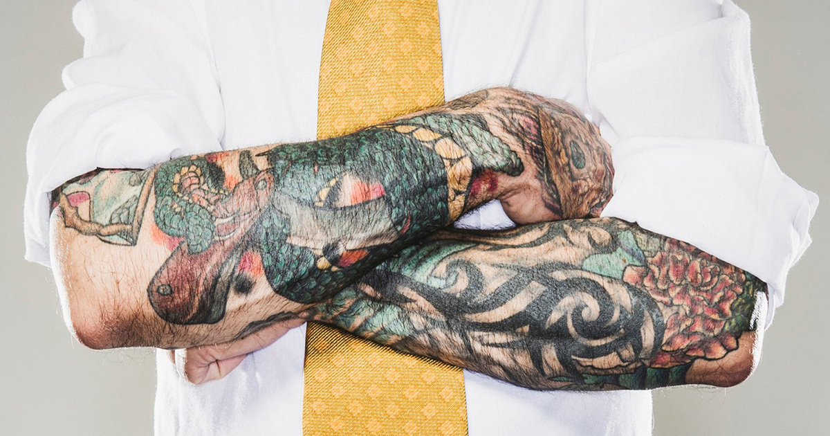 Why Are Tattoos In The Workplace Still Stigmatized?