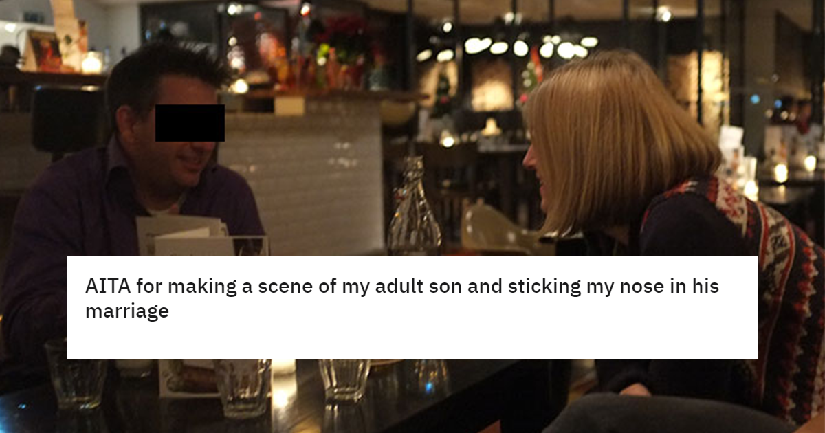 60-year-old Mom Gets Banned From Bar After Humiliating Son And Defending Her Daughter In Law.