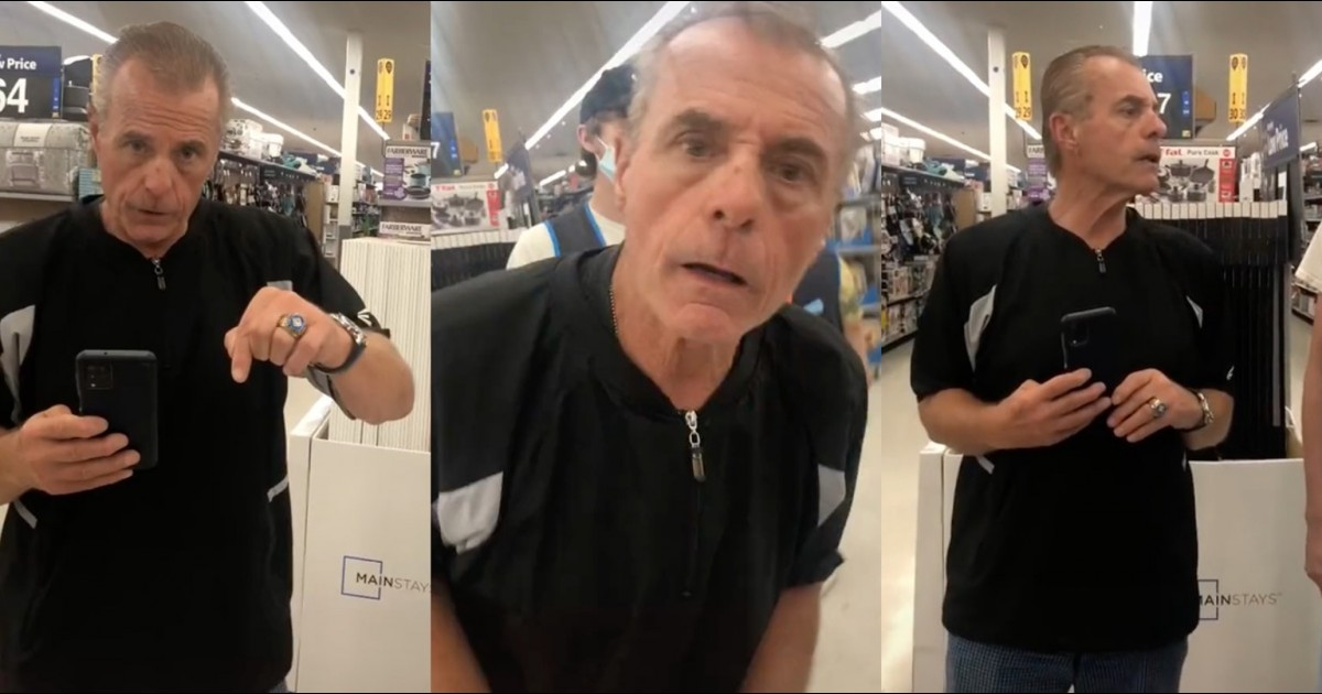 Racist Man Rants About 9/11, Telling Everyone To Learn English