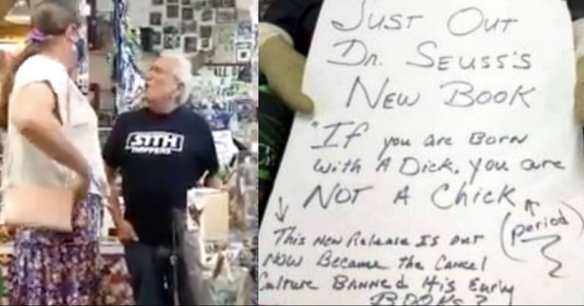 A Trans Councilwoman Calls Out Bigoted Shop Owner For Sexist Sign