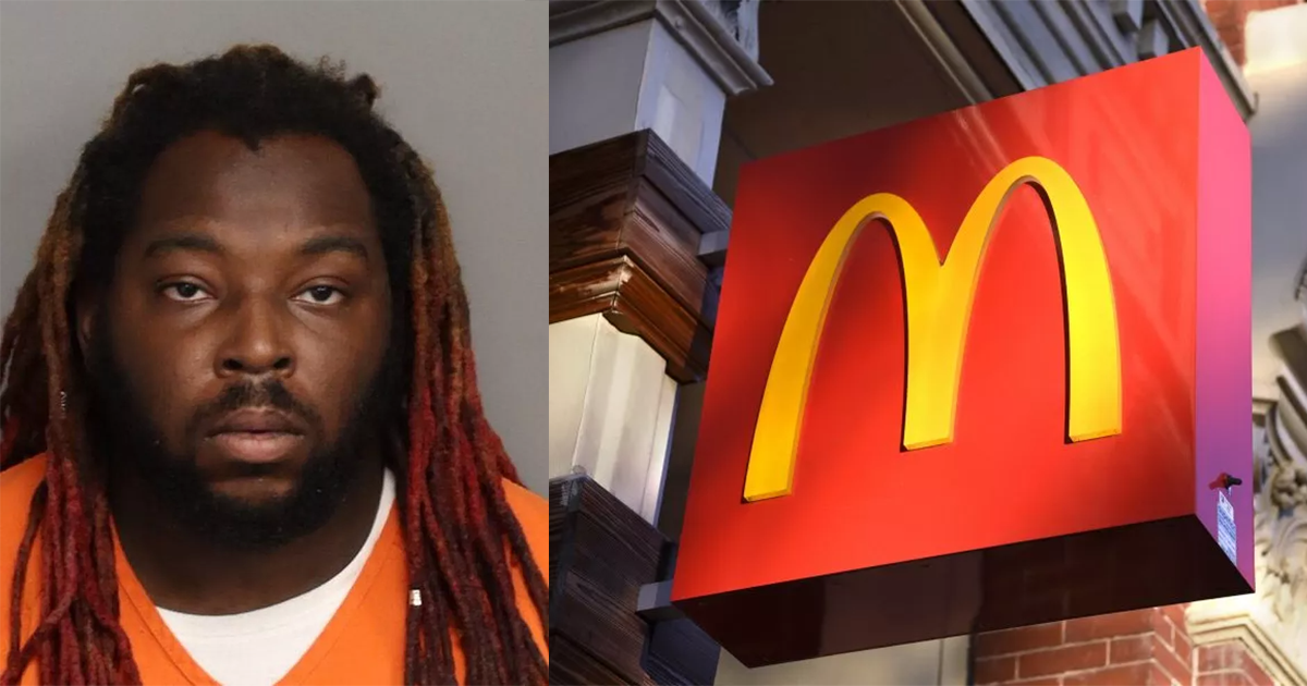 Man Arrested For Giving Child Face Tattoo In A McDonald's