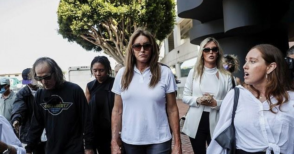 Caitlyn Jenner Confronted By Angry Crowd While Touring Homeless Encampment: 'You're Not The Answer!'