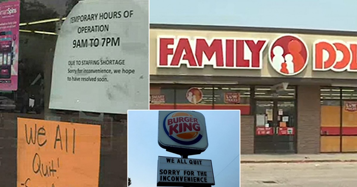 Family Dollar Store Forced To Close Midday As Entire Staff Quit Over Low Pay And Long Hours