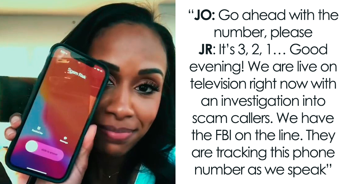 """News Anchor Gives Phone Scammer A Good Scare By Turning Her News Voice On: """"We Are On Live Television Right Now"""""""