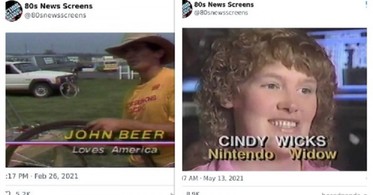 33 Weird Moments From The 80s And 90s News That Might Give You A Fun Peek Into The Past