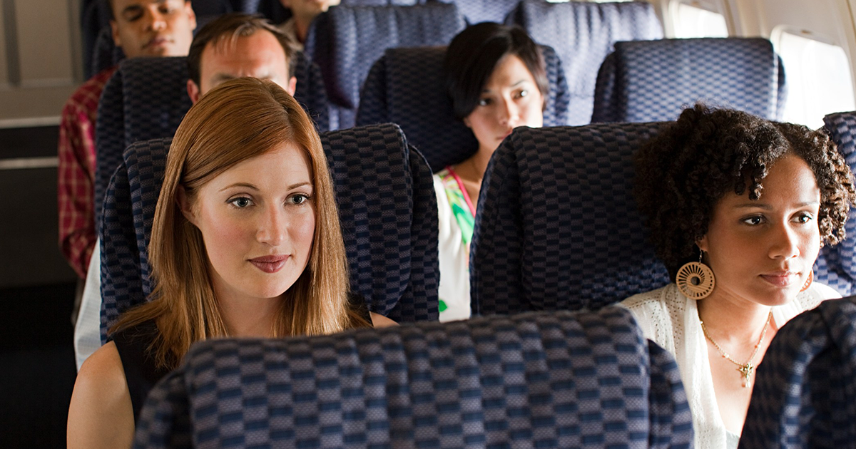 Entitled Mother Demands Woman To Entertain Her Kid On Flight