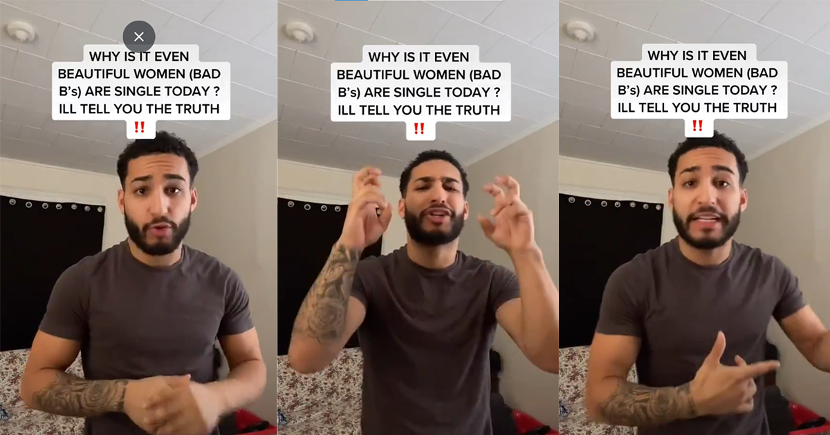 Self-Proclaimed 'Alpha Male' Says Women Are Single Because Of Feminism