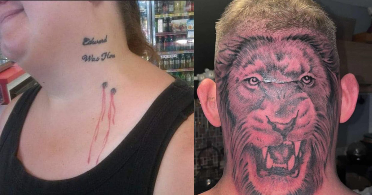 Tattoos That Were Just A Waste Of Ink