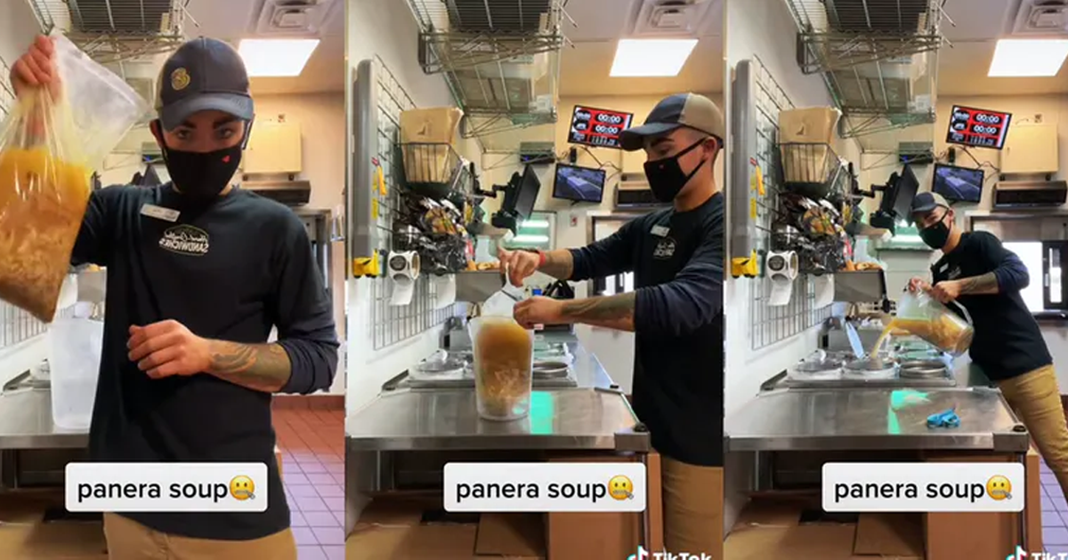 """Panera Employee Calls Out Their Soup: """"Expensive Hospital Food"""""""
