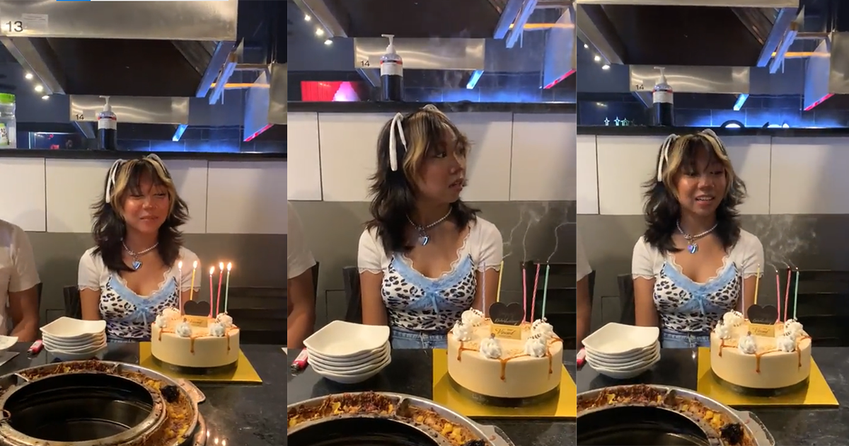Internet Outraged As Step-Mom Blows Out Kid's Candles