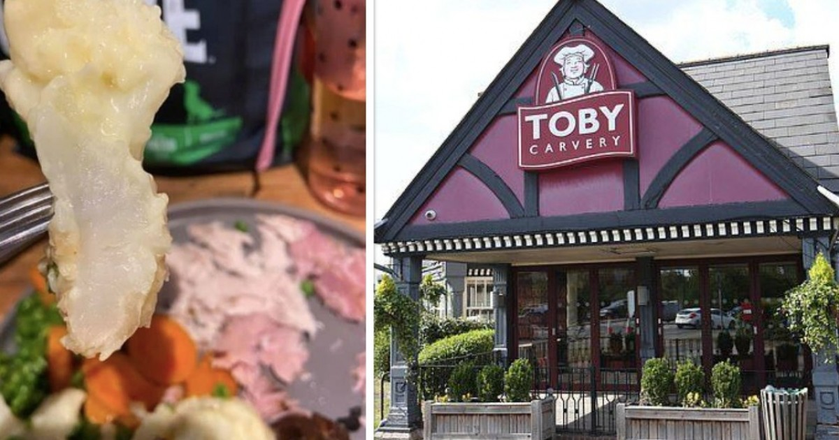 Woman Slammed A Toby Carvery Roast Delivered To Her Home Claiming It Turned Up Looking Like A Dog's Dinner