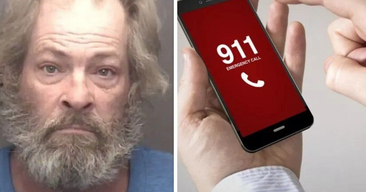 Indiana Man Jailed For Repeatedly Calling 911 To Tell Them That He Was Tired