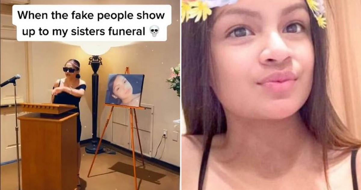 Internet Divided This Video Of Woman Calling Out 'Fake People' At Her Sister's Funeral