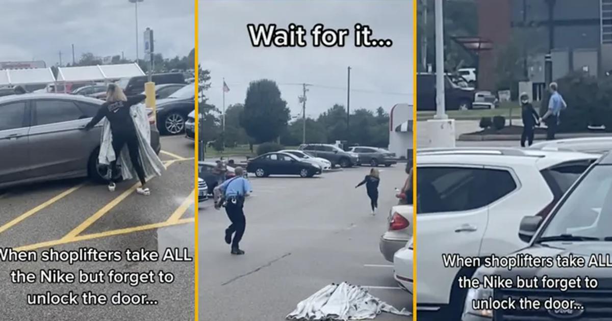 Getaway Driver Bails On Shoplifter In Viral Tiktok Video