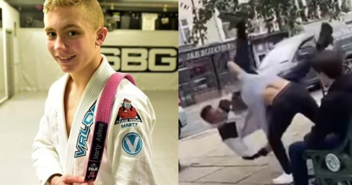 Fully Grown Man Tried To Attack 16 yr Old, Not Knowing He Is Jiu-Jitsu Junior World Champion
