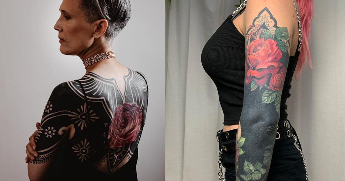 These Blackout Tattoos Are Everything We Need