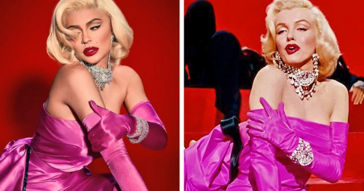 13 Times Celebrities Paid Tribute To Iconic Hollywood Stars With Their Looks