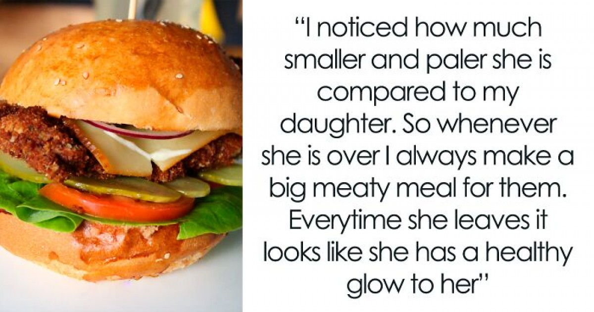 Dad Confesses To Secretly Feeding Dairy and Meat To Daughter's 'Malnourished' Vegan Friend