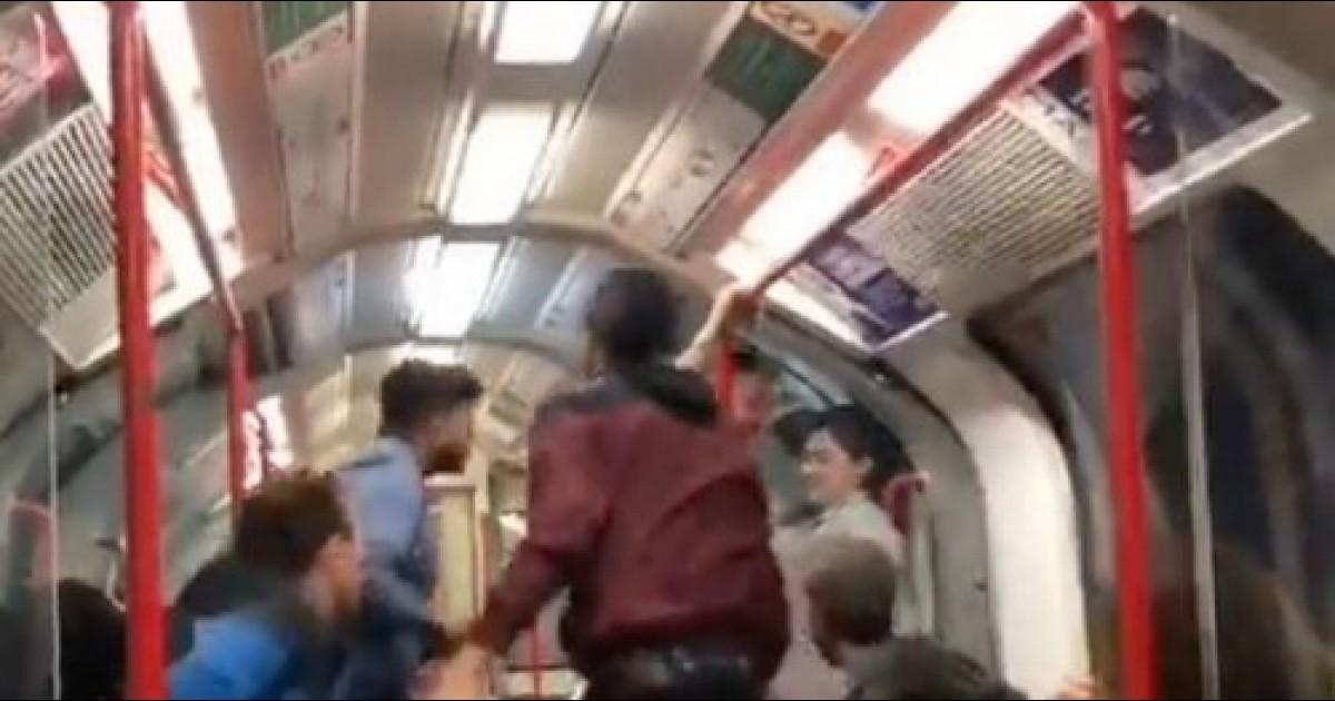 Bizarre Video Of Man Threatening Woman On Train Sparks Intense Debate