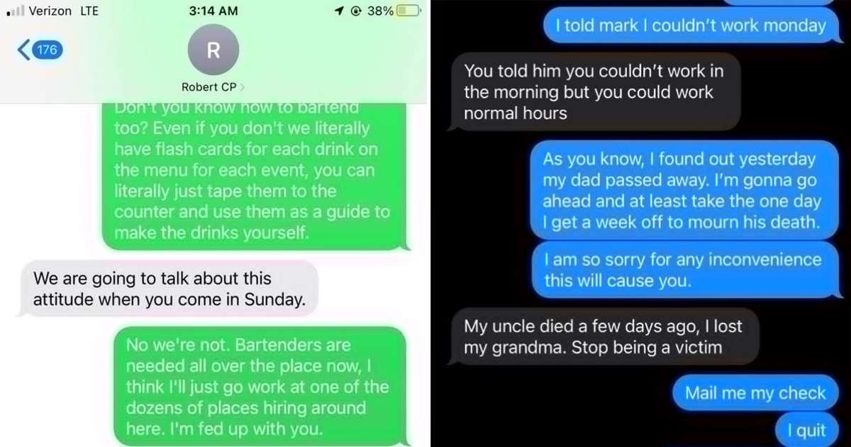 People Share Stories Of How They Quit On The Spot